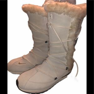 Nike boots winter fall 9 vintage weather rare